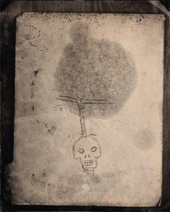 Hanging Skull Sketch