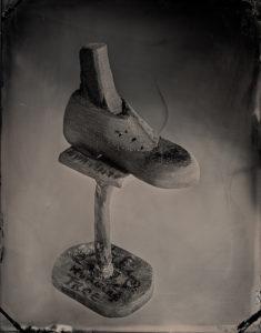 Alvin Moore's Shoe (2018), 2018