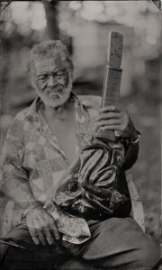 Freeman Vines and TD Snake Guitar, 2018