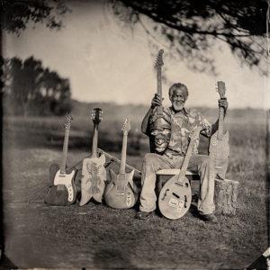 Freeman Vines and his Guitars No. 1, 2015