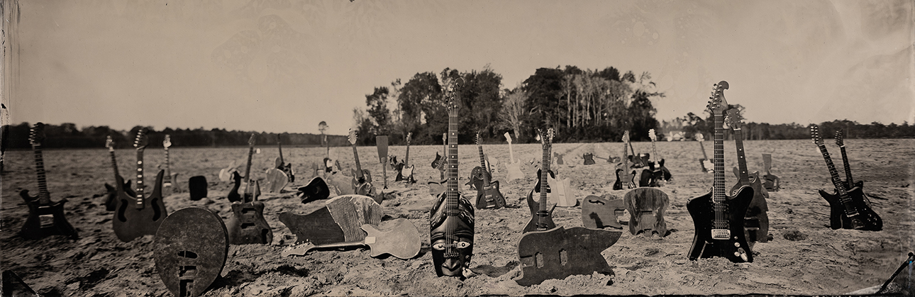 Hanging Tree Guitars in field